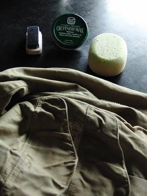 フィルソンオイルドジャケットと純正オイル
