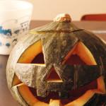 ハロウィンのかぼちゃ ジャックオランタンを作ってみた