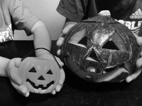 ハロウィン用のかぼちゃ完成!