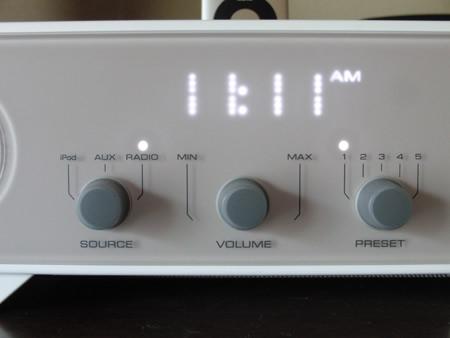 iPod用のスピーカーYAMAHA TSX-80 正面パネルの写真