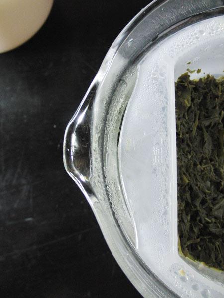 イワキ レンジのポット・茶器 注ぎ口