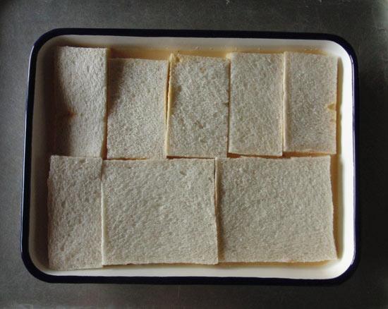 並べたパン