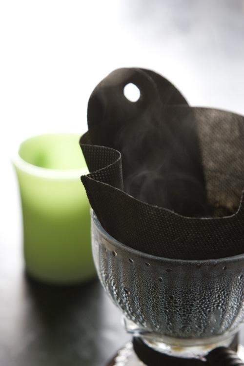 SILEXとミルカフェでコーヒーを抽出中