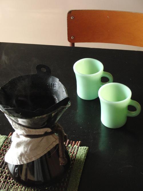 CHEMEXとミルカフェでコーヒータイム