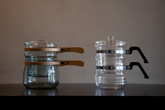 Pyrex Flameware Glasbake Cookware Double Boiler