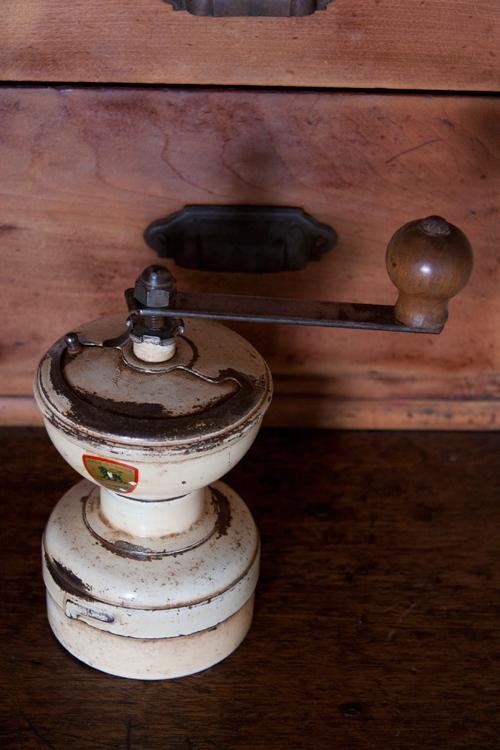 アンティークコーヒーミル プジョーディアボロ