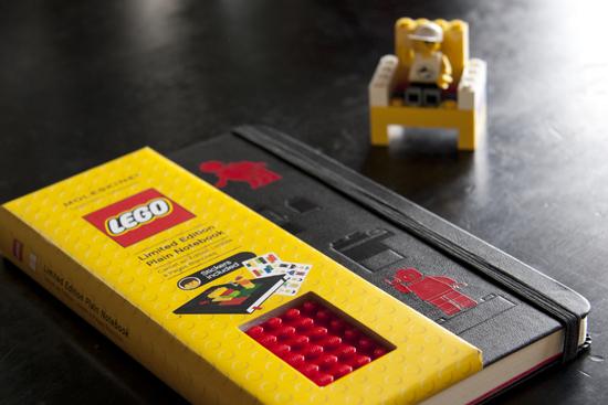 モレスキン 限定版レゴノートブック プレーン ラージ