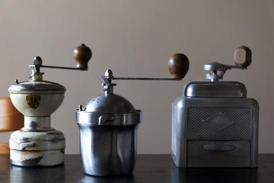 フランスアンティークコーヒーミル