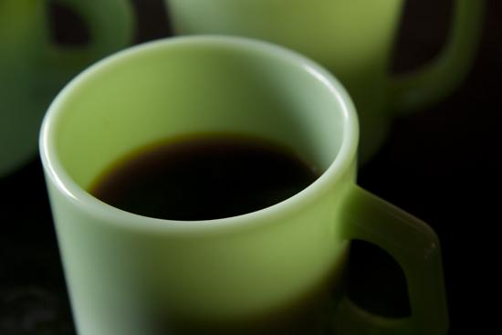 ファイヤーキングマグでコーヒー