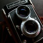 クラシックなヤシカのカメラ