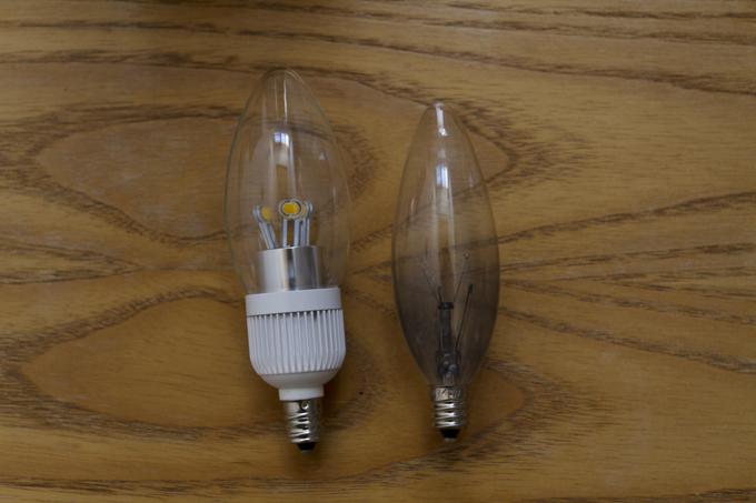 電球 E-12 比較