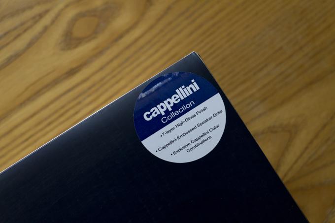 Tivoli Audio Model One Cappellini Collection 箱