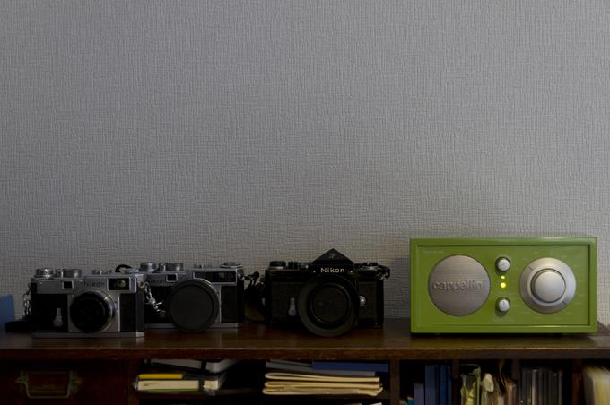 チボリオーディオ モデルワン Nikon F S3 SP
