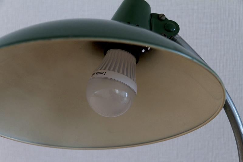 KAISER idell 6786 LED電球使用
