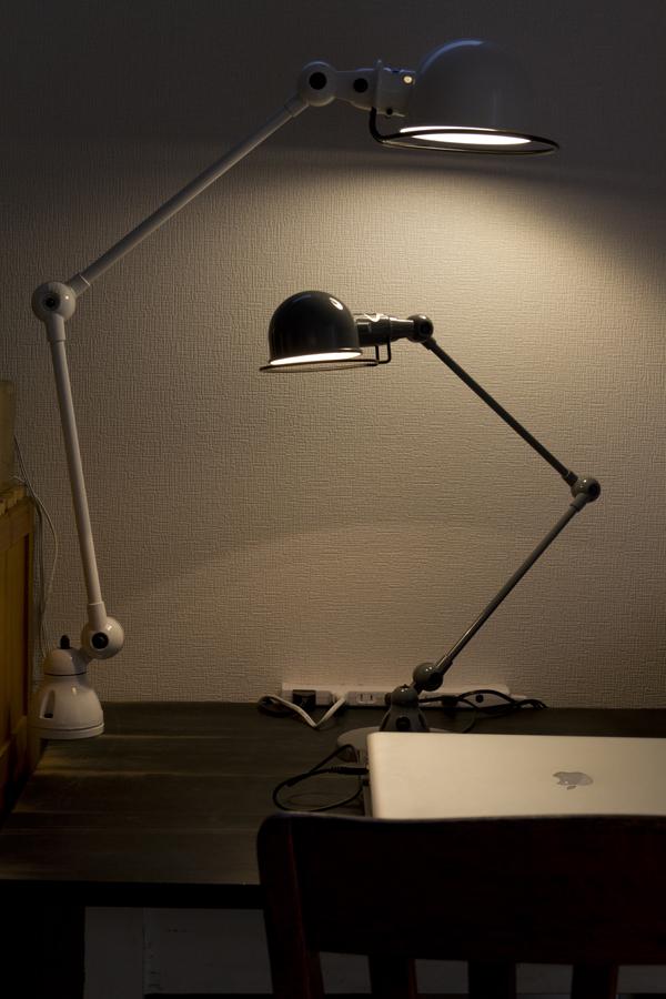 LED電球をつけたジェルデ シグナル