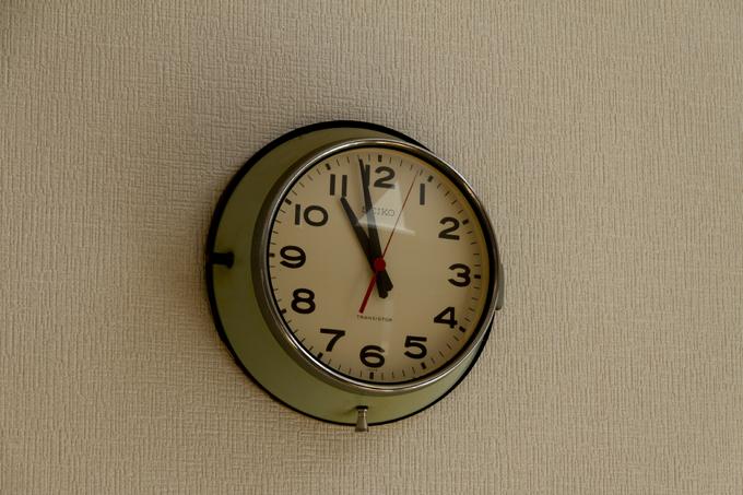 SEIKO 防塵時計 バス時計