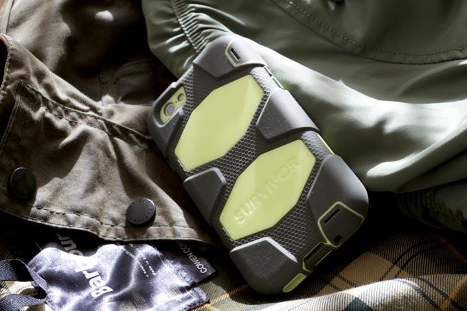 バブアーオイルドジャケット グリフィンiPhoneケース アルファ N-3B TIGHT