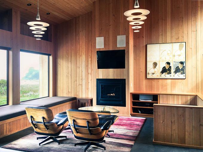 Living Room @ Horizon Reach / Photo Peter Alfred Hess