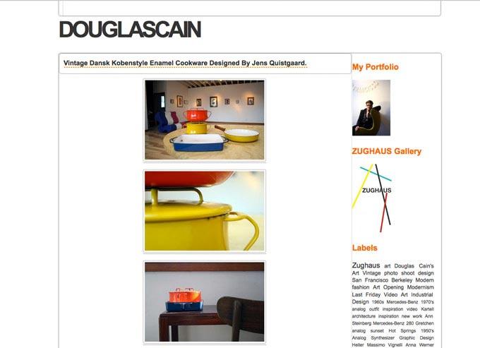 DOUGLASCAIN: Vintage Dansk Kobenstyle Enamel Cookware Designed By Jens Quistgaard.