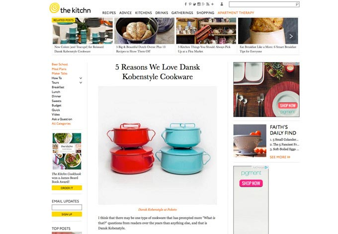 5 Reasons We Love Dansk Kobenstyle Cookware | The Kitchn