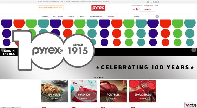 http://www.pyrexware.com/pyrex100-products/