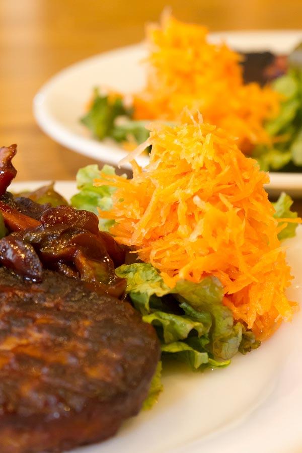 ののじ サラダおろし Fire-King RW Dinner Plate