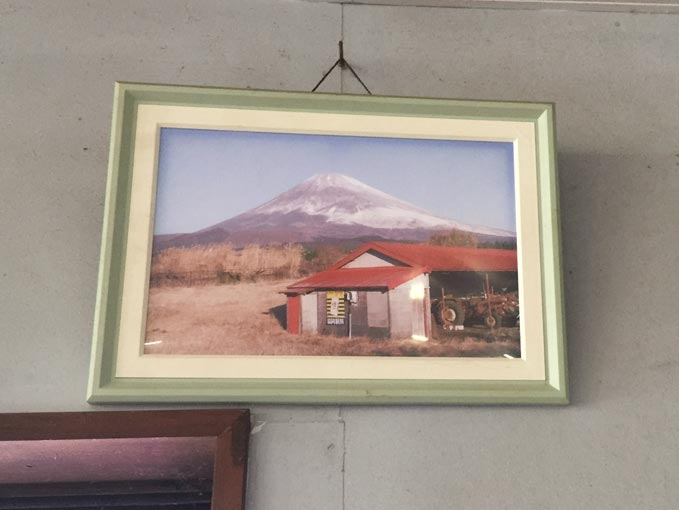 忠ちゃん牧場から見える富士山
