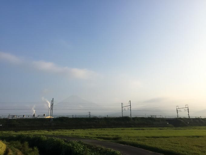 富士山 東海道新幹線