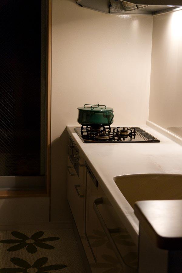 水切りラックをなくしたキッチン