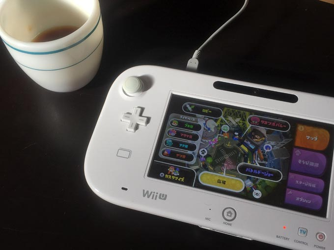 Wii U ゲームパッド