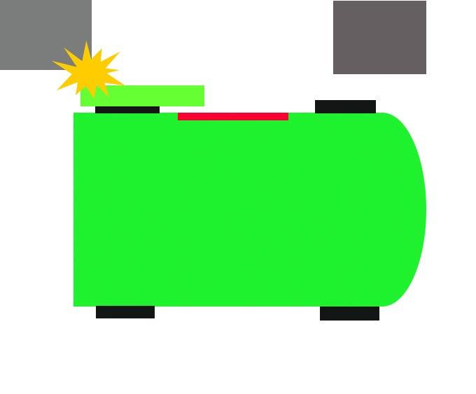 ミニバンならではの事故の図