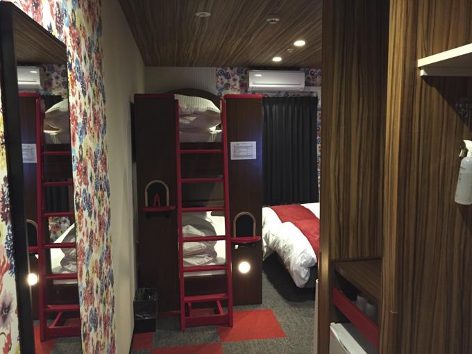 ラ・ジェント・ホテル東京ベイ 4人部屋