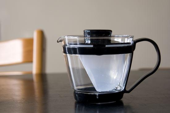 パイレックス レンジのポット・茶器