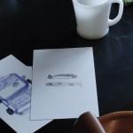 ほのぼのポストカード