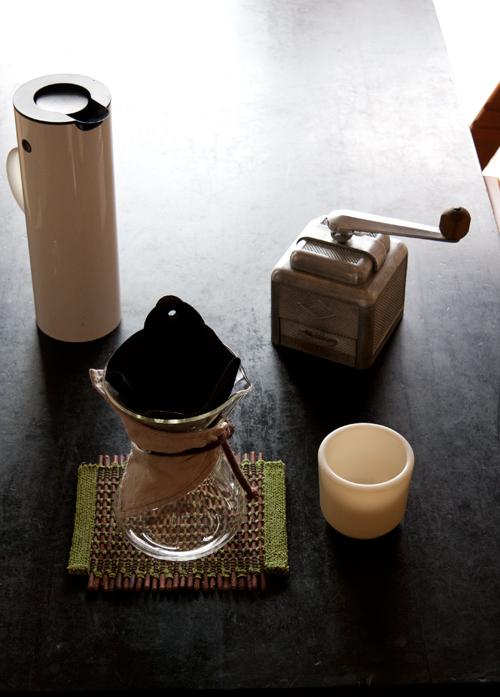 ケメックスを使ってコーヒータイム