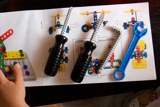 ビルダーキットテクノ ツールボックス 工具