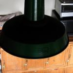 アンティークイギリス工業系のランプ