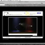 LUXOデスクランプのスクリーンセイバー