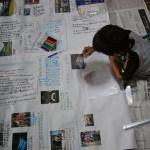 夏休みの総括!自由研究など 壁新聞の作り方!