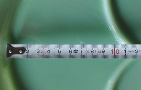 プレート詳細 サイズを測る