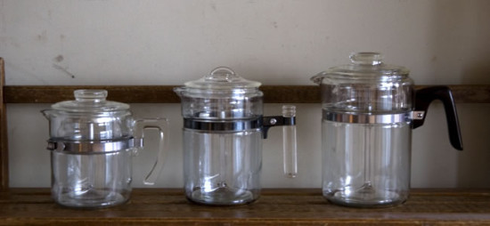 Old Pyrex Flameware Percolator