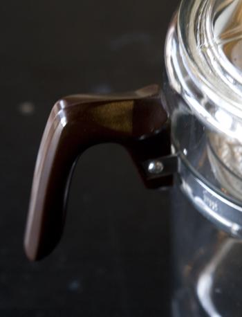 パイレックスパーコレーター プラスチックハンドル