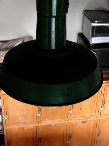 イギリスアンティークランプの写真