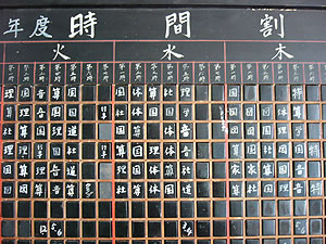 レトロ 黒板