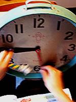 レトロ 学校の時計