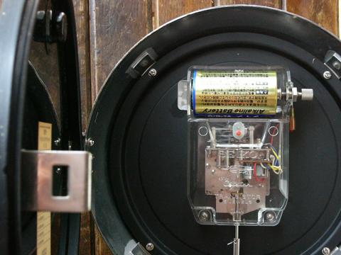 セイコー防塵時計の機械部分