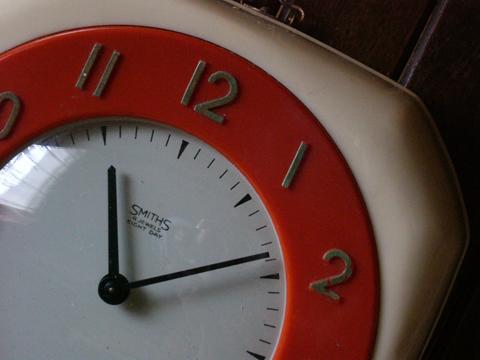スミス時計イギリスアンティークです