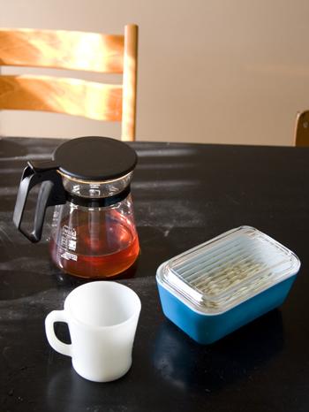パイレックスのニューコーヒーハウスで紅茶をつくってみました