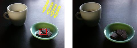 ファイヤーキングとテーブルの写真
