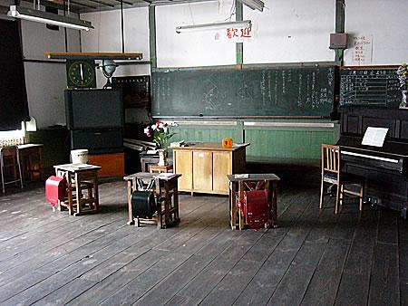 レトロ 机 部屋